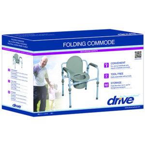 Incontinence supplies in Corpus Christi, folding commode